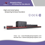 GX-PR(S/D) Series Horizontal Roller Hearth Glass Tempering Furnace for Flat&Bend (soft Roller)