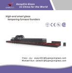 GX-SSP Series Double-Chamber Glass Tempering Furnace for Flat