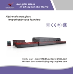 GX-P Series Horizontal Roller Hearth Flat Glass Tempering Furnace