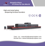 GX-SQ Series Double Curvature Bending Glass Tempering Furnace