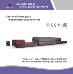 GX-QDLP Series Forced Convection Flat Glass Tempering Furnace