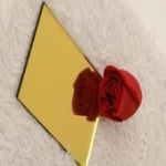 high quality yellow-glory mirror with factory price