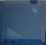 high quality royal-blue K coated mirror