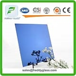 Blue/Red/Yellow Colored Silver Mirror/Aluminum Mirror
