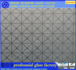 acid pattern glass, partition wall door window etching building glass