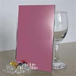 1mm-6mm Pink Mirror ( Clear, Bronze, Grey, Green, Blue and Pink Silver Mirror and Aluminum Mirror) with CE&ISO certificate
