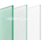 Plain Acid Etched Glass