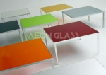 3mm-12mm Colorful and Durable Glass Painted with CE&ISO certificate