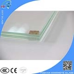 Tempered glass company 12.38mm clear and safety laminated glass