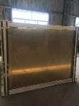 24K Golden Coated Glass