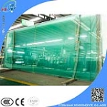 Best selling 15 mm extra clear tempered glass company,building glass