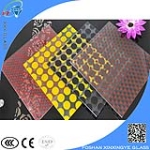 silkscreen laminated glass with customized pattern