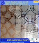 acid etched glass, decorative 3mm 4mm 5mm 6mm-10mm door/ window glass