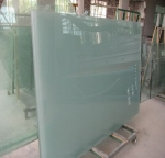 Sanded glass sandblasted glass
