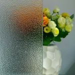 3-8mm Clear Nashiji Patterned Glass