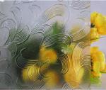 Clear Patterned Glass-Mayflower
