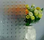 Clear Patterned glass-millenium