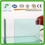 6.38mm, 8.38mm, 10.38mm clear and color laminated glass
