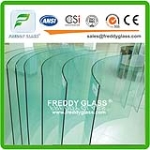 Bent Tempered Glass,10MM 12MM Tempered Glass