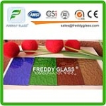 Colored  Pattened Glass