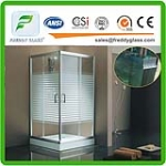 clear tempered glass for table top, shower enclosure, tempered laminated glass