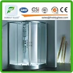 toughend glass for shower room with CE ISO