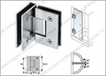 Glass hinges / Patch fittings