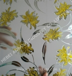 Ice acid decorative glass, window glass, Ice flower art glass ,ceiling/backlit/door glass