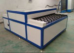 horizontal automatic glass washing drying machine