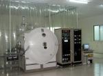 Horizontal E-beam optical coaters