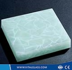 Jade Glass for Building Wall