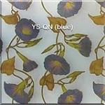 Digital Printed Glass/YS-QN (blue)