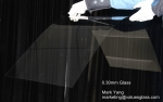 0.18mm,0.20mm, 0.22mm, 0.30mm Ultra Thin Glass