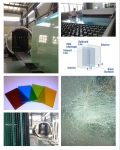 4.38-20.76mm Laminated Glass with Colored PVB Certified by AS/NZS2208