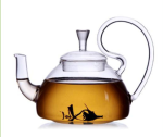 Double-Walled Borosilicate Glass Teapot