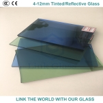 3-12mm reflective glass with 3C, SGCC and C