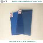 5mm Blue Reflective Glass with Ce & ISO9001 for Glass Window