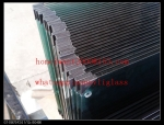tempered ceramic frit glass ,silk printed glass