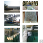 Clear Tempered Glass 4-19mm ISO9001 Certificate
