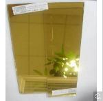 Golden Reflective Float Glass 4mm, 6mm