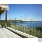 Clear Framless Tempered Laminated Glass