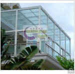10mm Tempered Glass Balustrade for Balcony