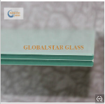 6.38mm White transulent PVB Laminated Glass 2000x2440