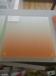 Gradient  pvb film laminated glass