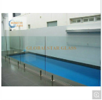 8mm, 10mm, 12mm Glass Fencing Tempered Glass