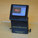 measure the surface stress of thermal tempered glass with Laser