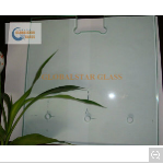 Door with Hole Tempered Glass