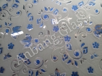 Ice acid etched building decorative glass with CE&ISO certificate from factory