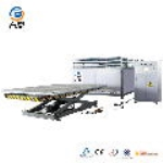 three layers laminated glass machine