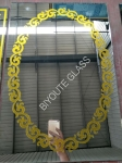 4/4.5/4.8/5 MM decorative ice flower bathroom mirror